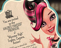 "Monster High ""Black Carpet"" Movie Premiere"