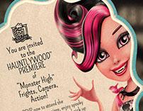 "Monster High ""Black Carpet"" Movie Premiere"